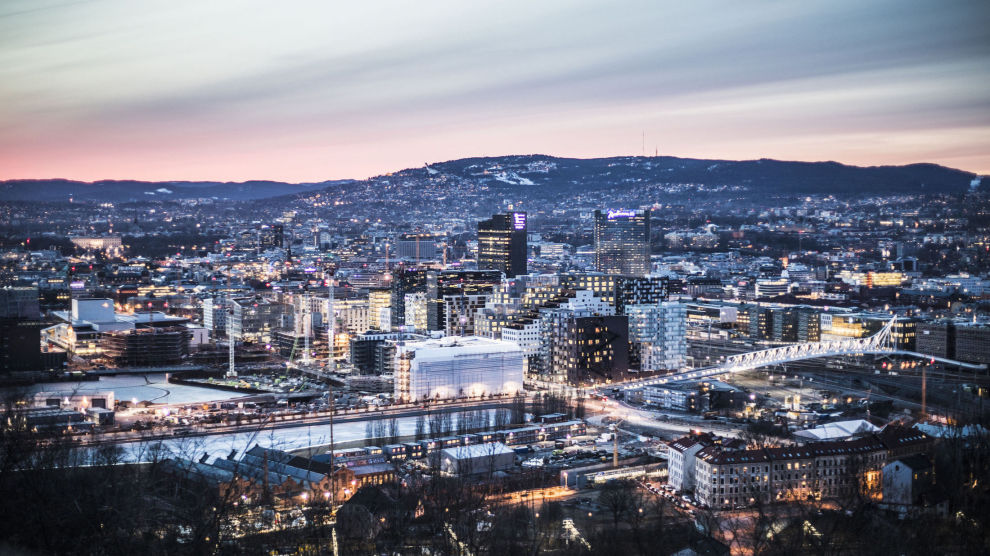 RASKT SALG: Vil du få solgt boligen din raskt, er det en fordel om du bor i Oslo. Her går salget raskere enn i omkringliggende områder og i distriktene.