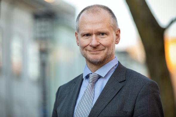 NY I JOBBEN: Henning Lauridsen tok over jobben som administrerende direktør i Eiendom Norge 1. januar i år.