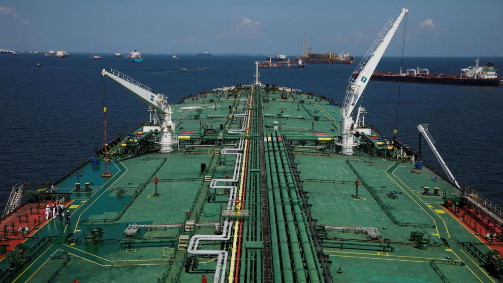 KASTET UT: Porteføljen besto av flere shipping- og energiaksjer, som blir vraket denne gangen. Frontline med sine store tankskip er blant rederiene som har falt tungt.