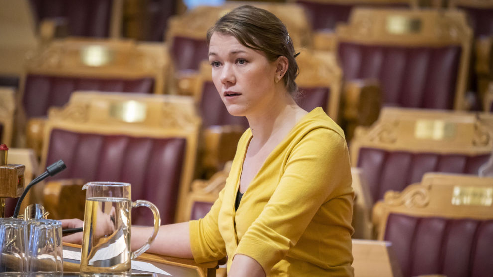MDGs Une Bastholm synes Aps kurs i rovdyrpolitikken er skremmende. Arkivfoto: Heiko Junge / NTB scanpix