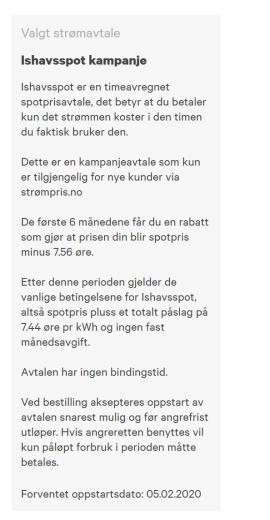 DOBLES: Ishavskraft har en kampanje som gjør at du får en lav strømpris i seks måneder. Men deretter dobles nesten prisen.