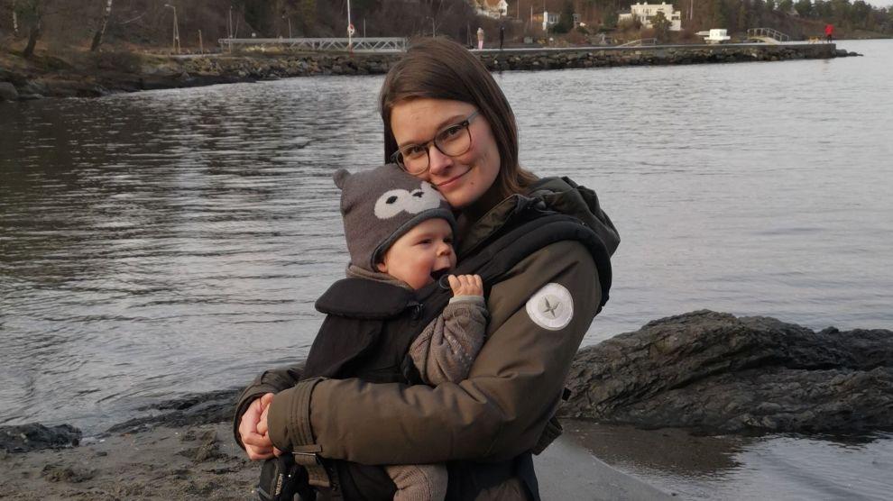 TOK EKSTRA PERMISJON: Når sønnen Oscar (snart 1) begynner i barnehagen vil Brynhild Aursund ha tatt permisjon uten lønn i omkring 12 uker totalt.