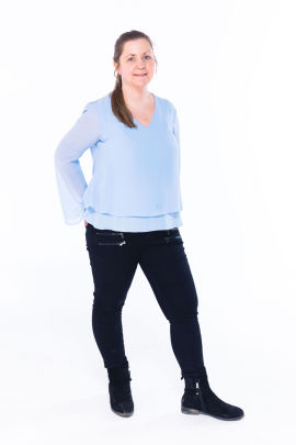 Astrid Dalen, reportasjeleder i DinePenger