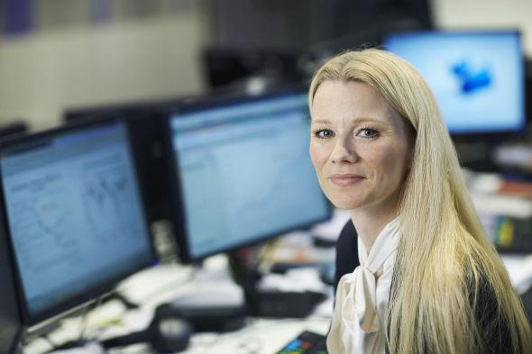 SPÅR RENTEKUTT: Sjeføkonom Kari Due-Andresen i Handelsbanken Capital Markets tror Norges Bank kan komme til å kutte styringsrenten neste torsdag.