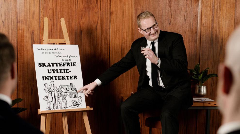 GIR OVERSIKT: Carsten Pihl, forbruker- og kommunikasjonssjef i Huseiernes Landsforbund om utleie.