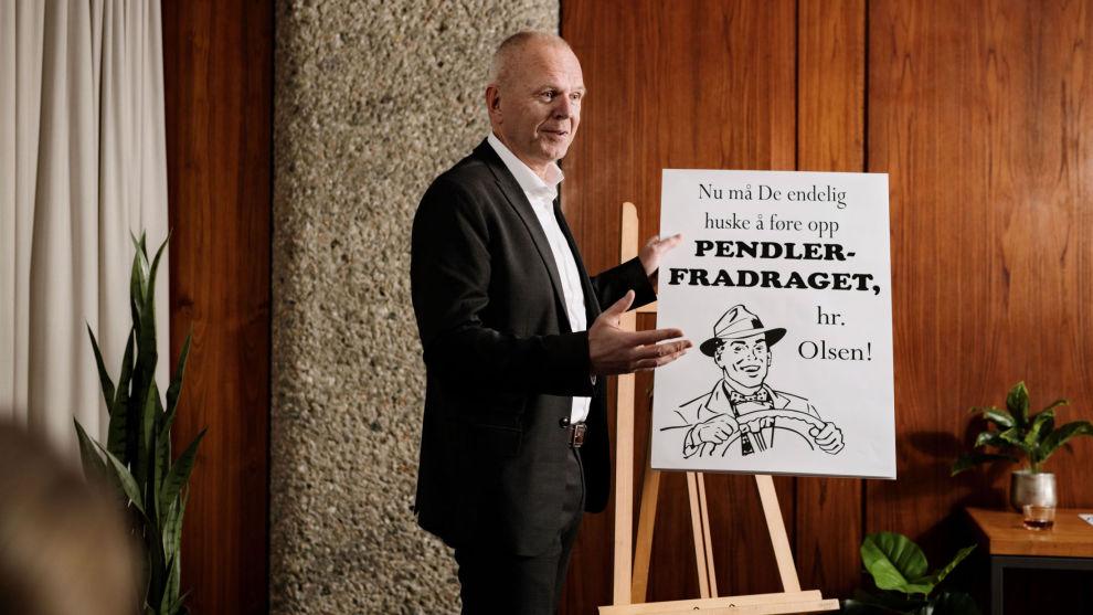 DELER KUNNSKAP: Per-Ole Hegdahl, advokat i Skattebetalerforeningen og SBF Skatteadvokater om pendlerfradraget.