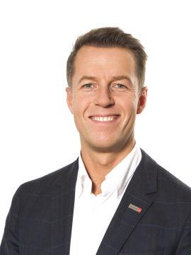 Kommunikasjonssjef Lasse Sandaker-Nielsen i Norwegian.