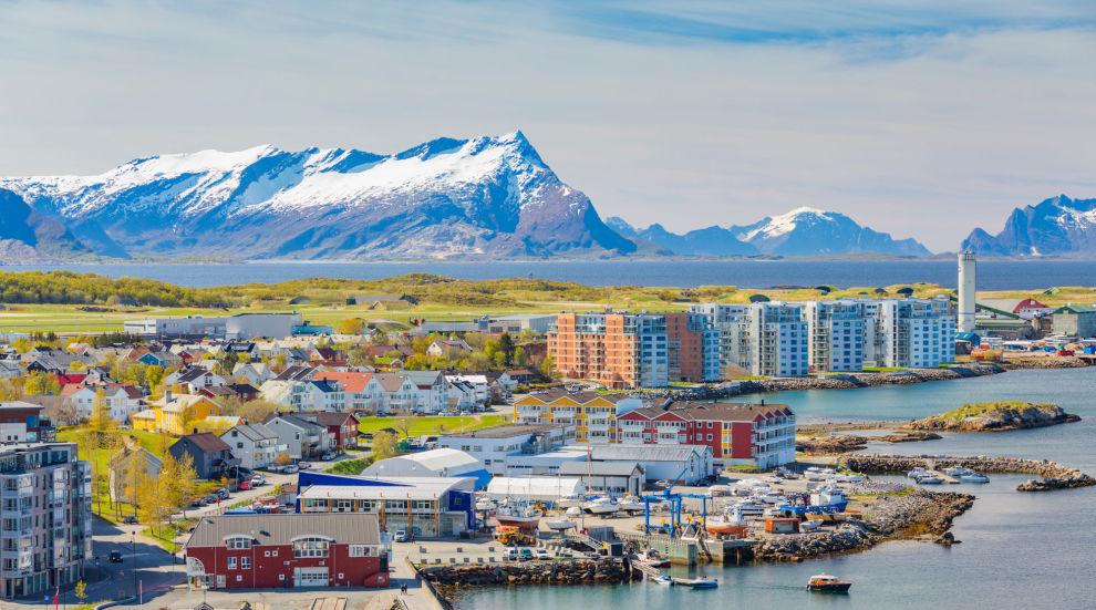 MEST OPP: I april hadde denne byen størst vekst i boligpriser. Hovedstaden gikk derimot i minus.