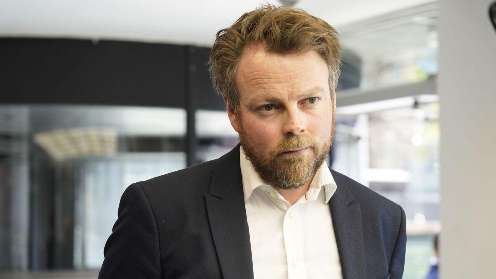 Torbjørn Røe Isaksen (H) vil forlenge permitteringsordningen ut oktober. Foto: Thomas Brun / NTB scanpix