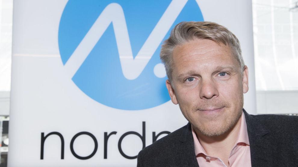 – TJENER IKKE MER PÅ NY PRISMODELL: Totalt reduseres Nordnets inntekter med den nye modellen vesentlig, oppgir Nordnet Norge-sjefen Anders Skar.