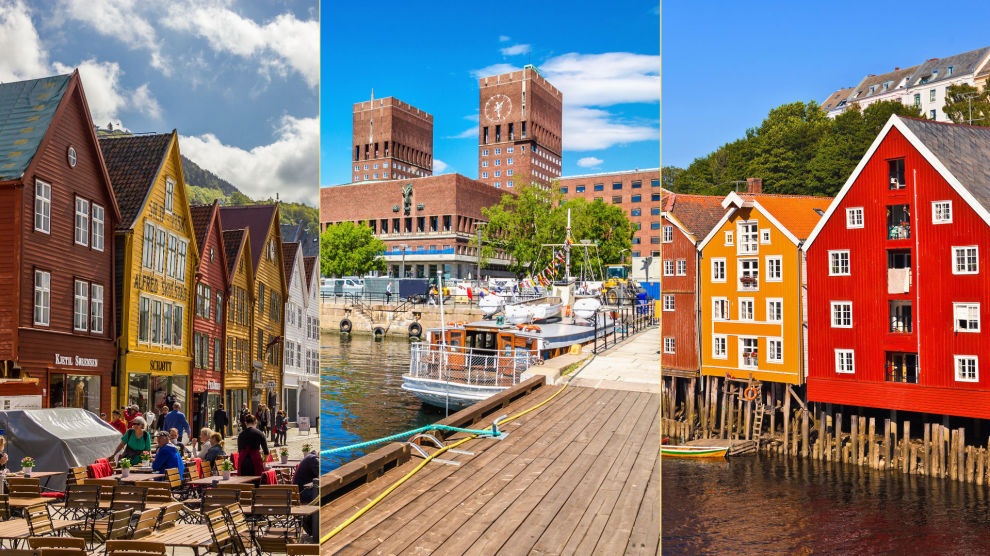 BOLIGPRISER: Så lenge koronasmitten holder seg lav, tror ekspertene at lav rente vil være avgjørende for utviklingen i boligprisene i Norge, her representert ved landets største byer.