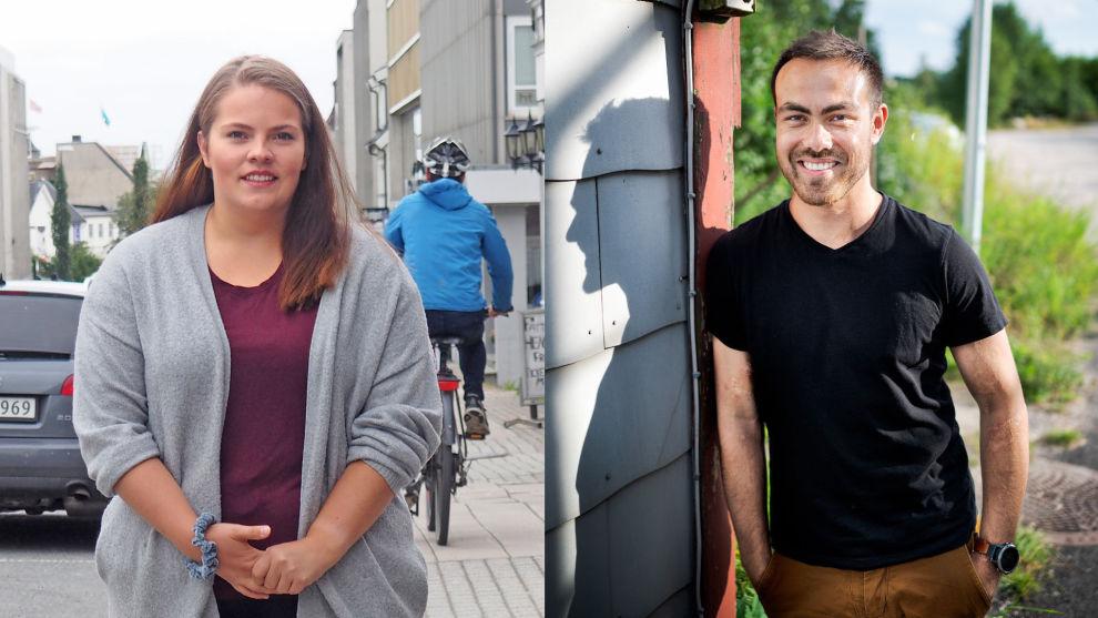 FIKK BOLIGHJELP: Viktoria Instanes Markussen (21) og Fredrik Støle (26) fikk bo gratis hjemme hos foreldrene, og klarte dermed å spare opp mye egenkapital til bolig.