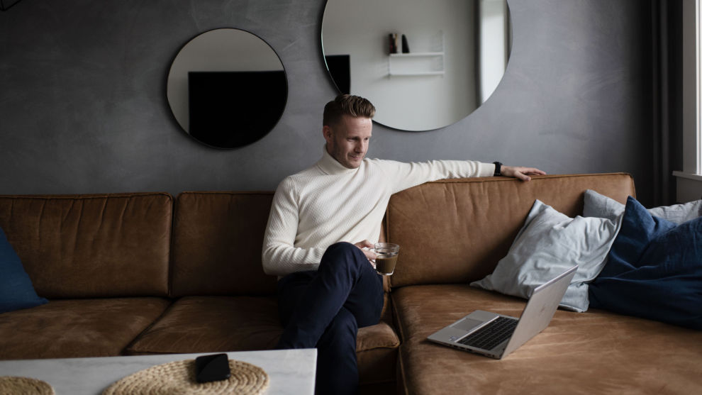 GIR RÅD: Christian Kallevig Arnesen i Finansco.