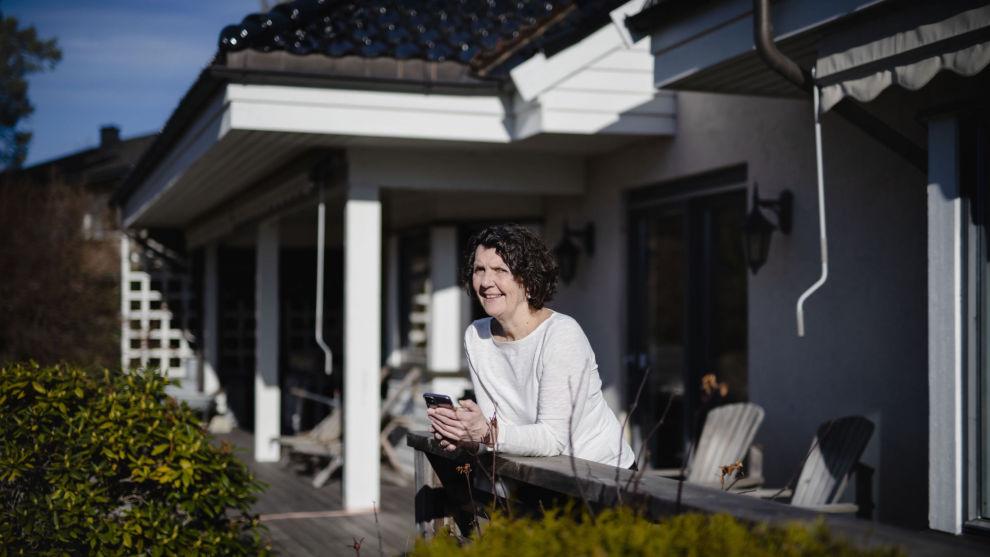 Tonje Christin Norrvall i KPMG, her i sitt hjem i Oslo.