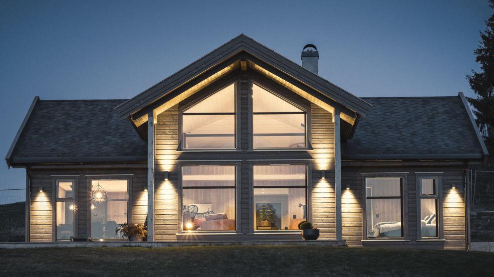 DRØMMEHYTTE ELLER DÅRLIG ARKITEKTUR: «Polar 110» fra Nordlyshytter er et eksempel på at det folk ønsker seg ikke nødvendigvis samsvarer med det fagmiljøet vil anse som god arkitektur.