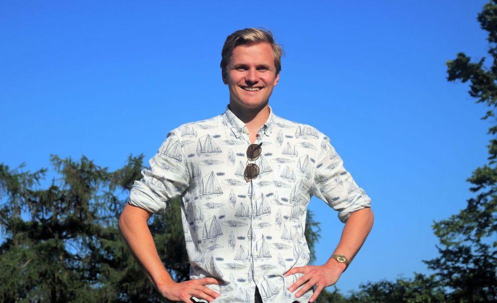 EKSTRAINNTEKT: Petter Haga har lyktes med å skaffe en ekstra inntekt som krever svært lite jobb. På en måned har salget bikket 20.000 kroner.
